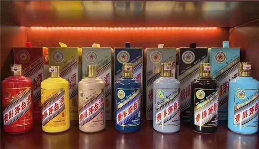 舟山高价回收年份茅台酒瓶盒子