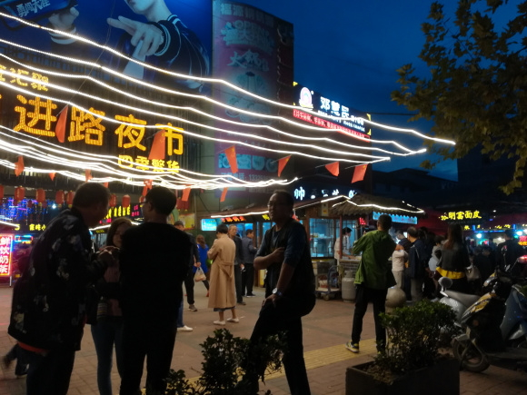 生意转让 (急转) 汉中前进路夜市小吃街旺铺