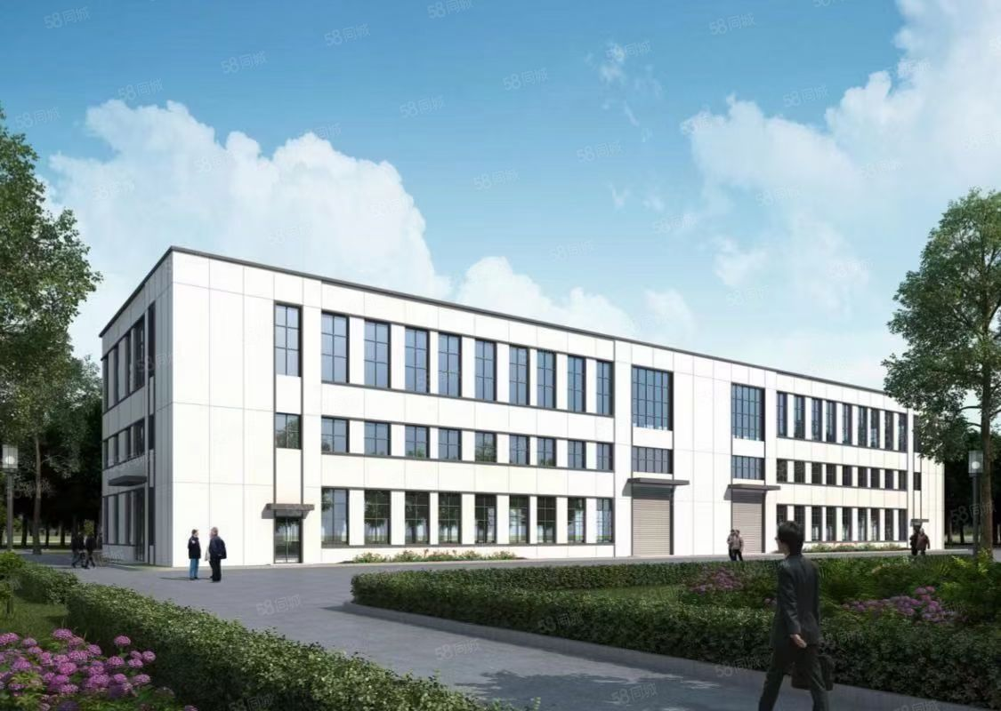 独立产权 绝版单层 高速高铁旁  园区新建厂房