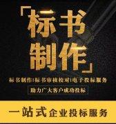 服务类标书 内江7年团队专业公司代写制作