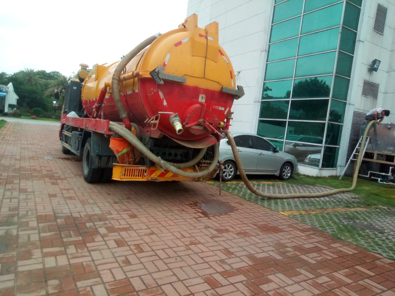 专业大小型机械疏通各种下水管道管道疏通高压清洗