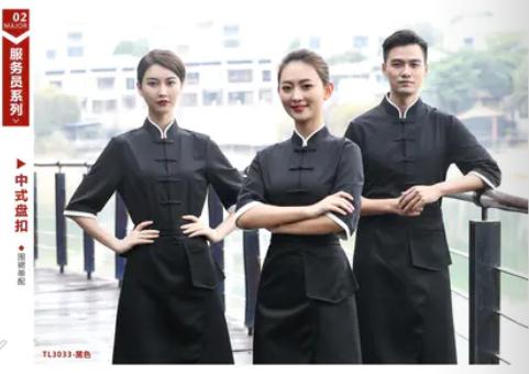 威海酒店服装批发,威海酒店服务员服装厨师服装保洁服装批发